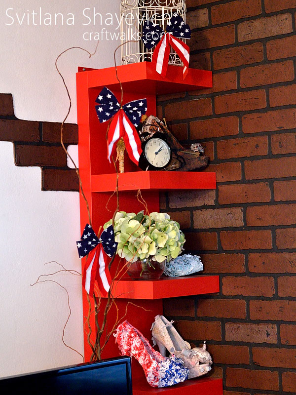 patriotic americana home decor