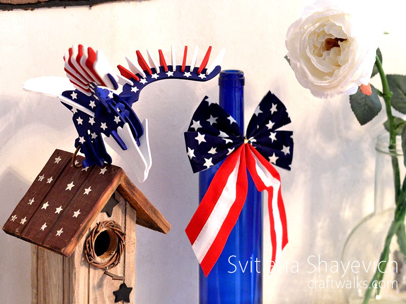 patriotic americana home decor eagle diy