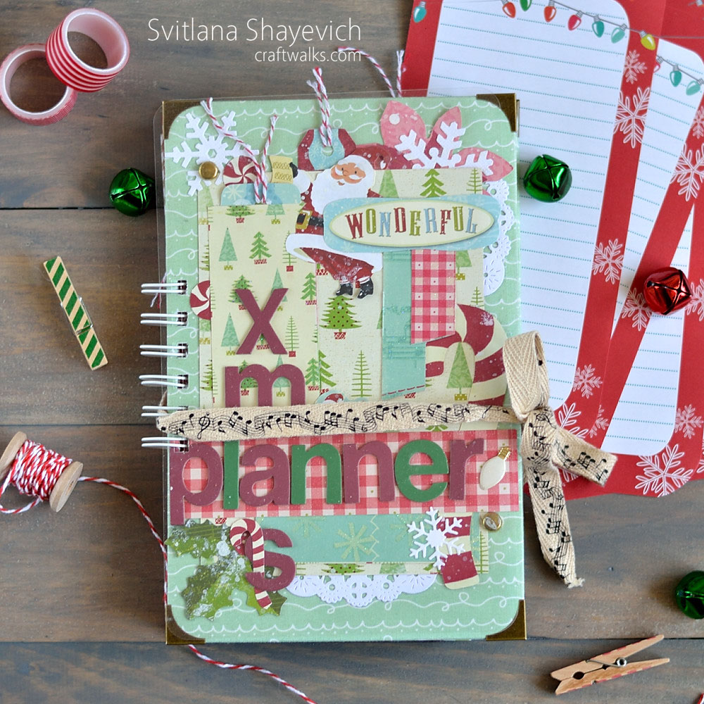Christmas planner, by @s_shayevich #planner #organization #christmas #productivity #организация #планнер