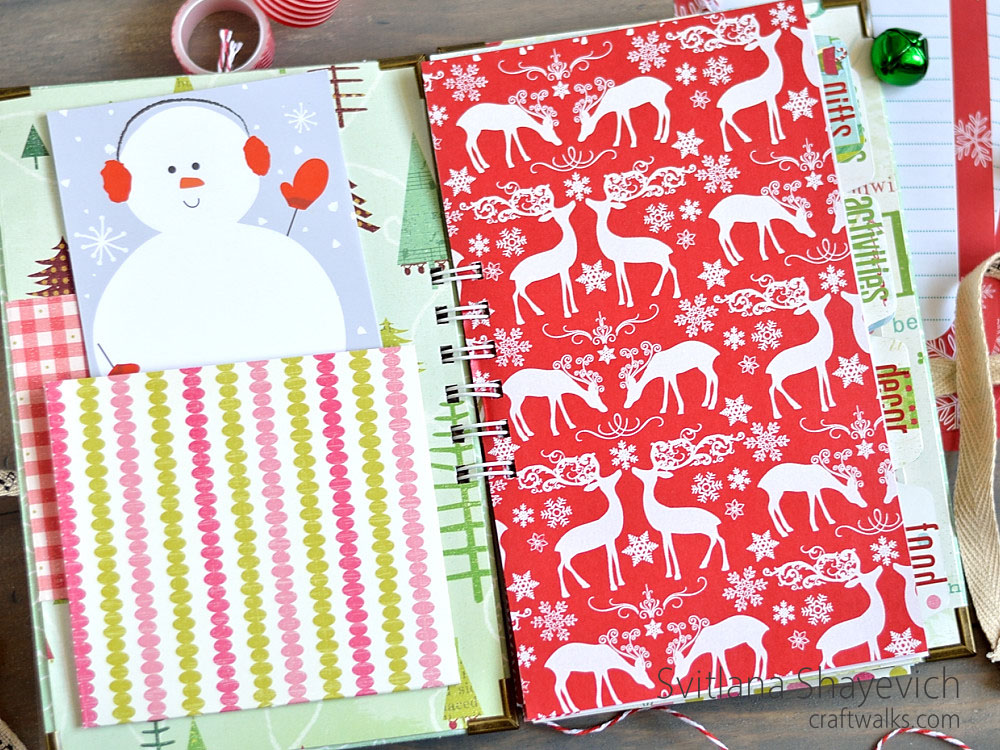 Christmas planner, by @s_shayevich #planner #organization #christmas #productivity #организация #планнер