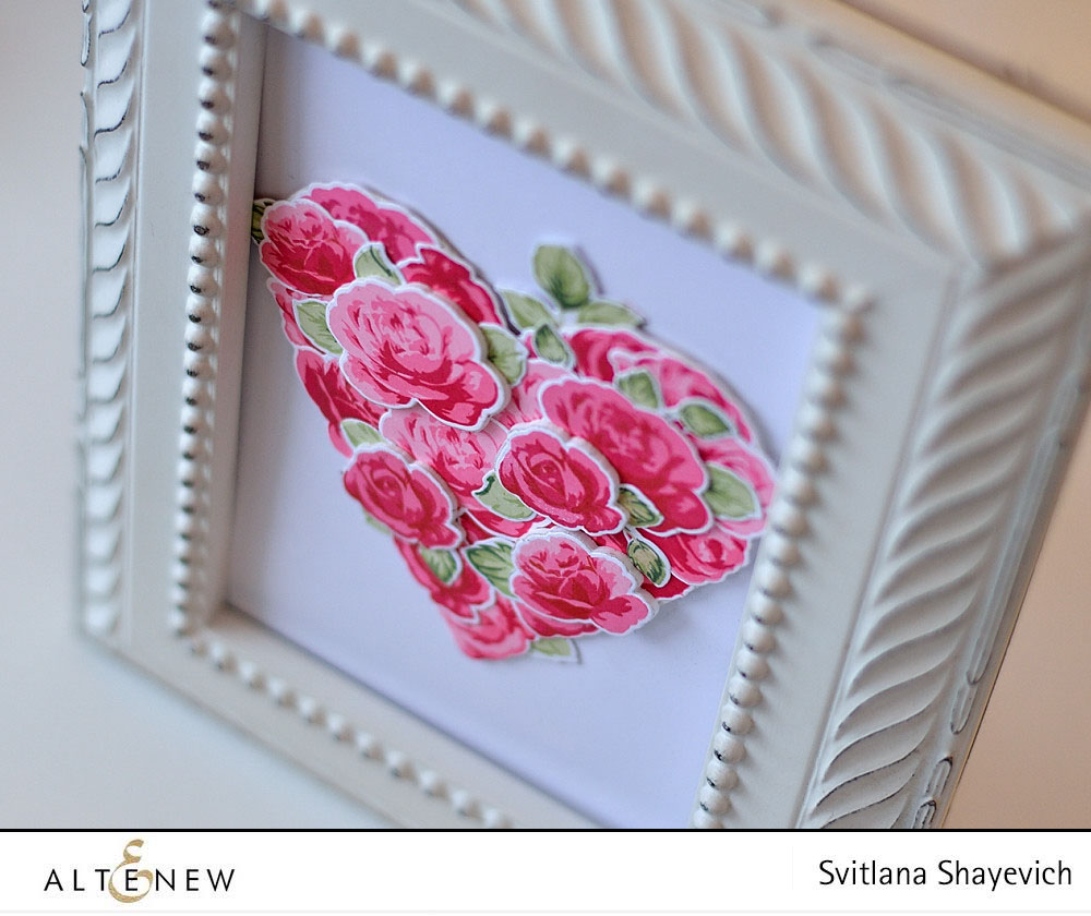 Valentine decor. @s_shayevich. Stamps - @altenew