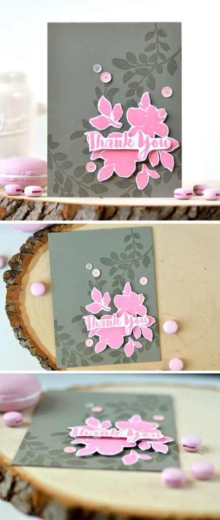 Altenew Floral Shadow. Card by @_shayevich