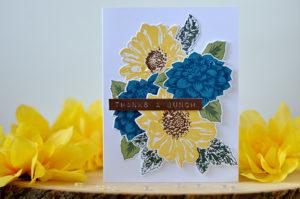 Altenew • Dahlia and Sunflower Bouquet