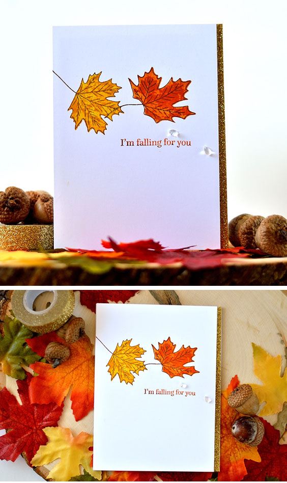 sSTAMPtember Collaboration With Altenew - Be-Leaf-Me. Cards by @s_shayevich