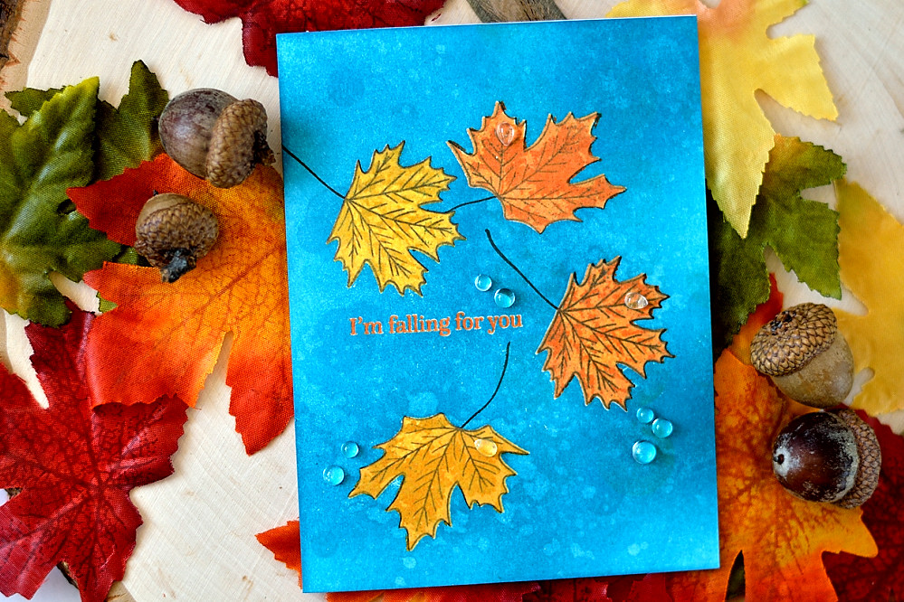 STAMPtember Collaboration With Altenew - Be-Leaf-Me. Cards by @s_shayevich