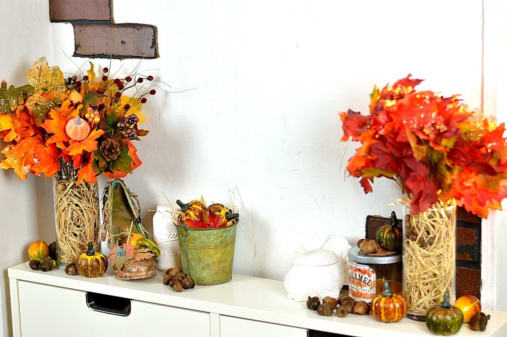 Fall and Thanksgiving Home Frugal Home Decor Tour.