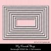 My Favorite Things Rectangle Stax 1 Die-namics Die Set