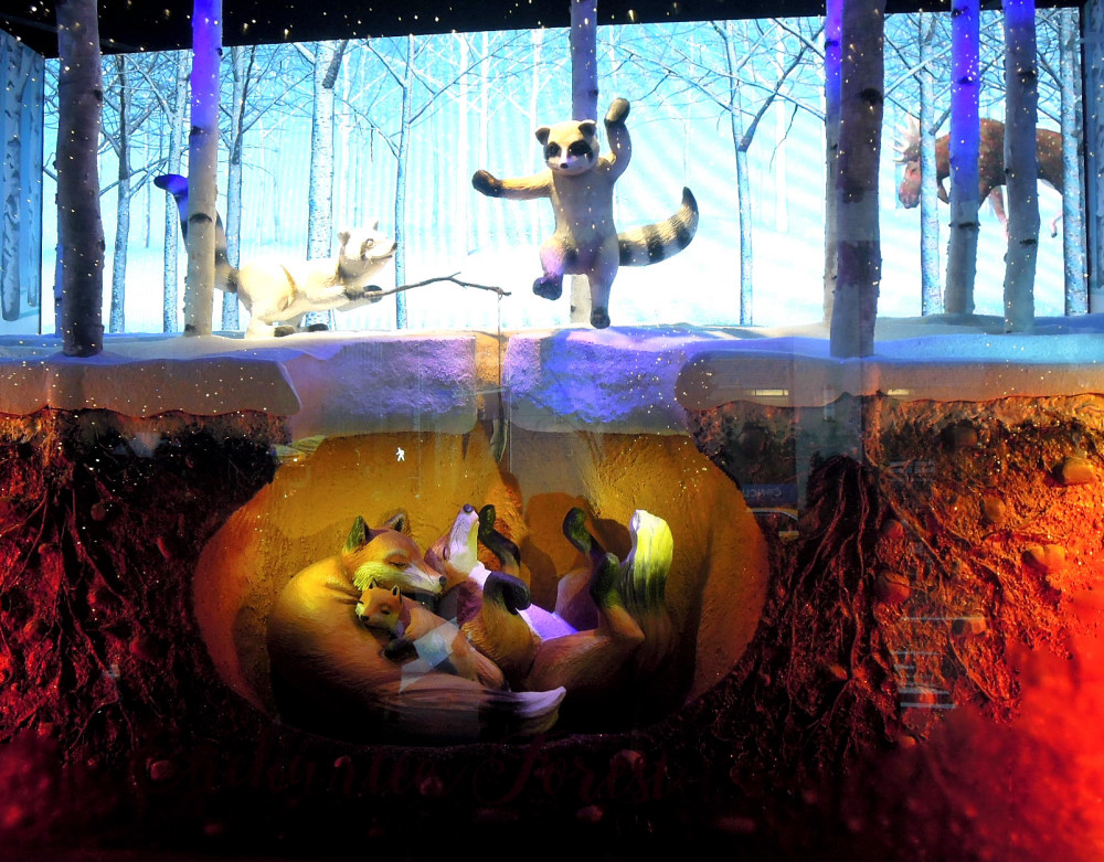 City Walks, Christmas in New York 2016. part 3. Lord&Taylor Holiday Windows