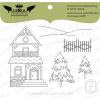 Lesia Zgharda Carpathian House Stamp Set