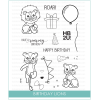 Studio Katia Birthday Lions Stamp Set