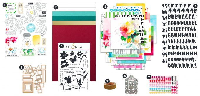 Altenew New Day Card Kit
