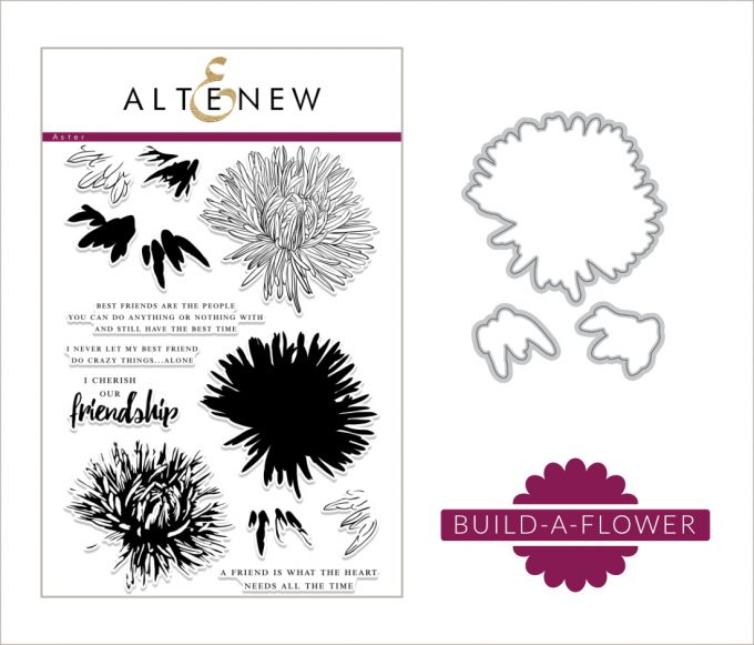 Altenew Build-A-Flower Aster