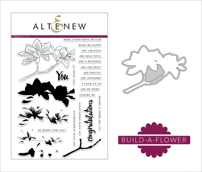 Altenew Build-A-Flower: Magnolia