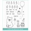 Studio Katia Kobi The Birthday Bear Clear Stamp Set