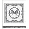 Studio Katia Dotted Patterns Fancy Square Die Set
