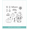 Studio Katia Meowy Halloween Clear Stamp Set