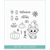 Studio Katia Meowy Halloween Clear Stamp Set