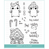 Studio Katia Sweet Holiday Clear Stamp Set
