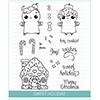 Studio Katia Sweet Holiday Clear Stamp Set