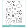 Studio Katia Winter Kobi Clear Stamp Set