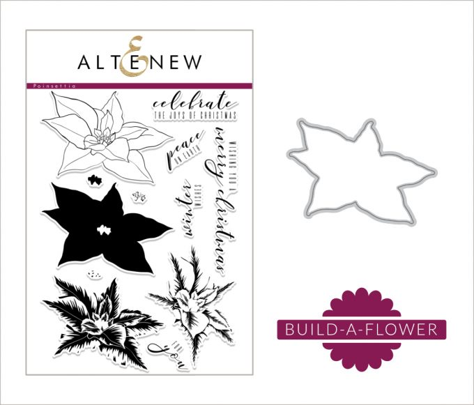 Altenew Build-A-Flower: Poinsettia