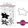 Altenew Build A Flower: Poinsettia Stamp And Die Bundle