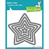 Lawn Fawn Puffy Star Stackables Die Set