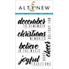 Altenew December To Remember Stamp Set