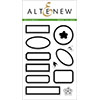 Altenew Dot Labels Stamp Set