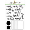 Altenew Journal Card Builder Stamp Set
