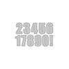 Altenew Bold Numerals Die Set