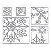Spellbinders Snowflake Snippets Die Set