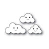 Simon Sats Stamp Happy Clouds