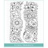 Studio Katia Floral Trimmings Stamp Set