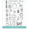 Studio Katia Sweet Latte Stamp Set