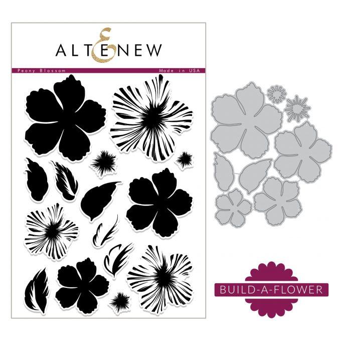 Atenew Build-A-Flower Peony Blossom