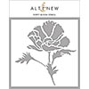 Altenew Poppy Bloom Stencil