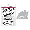 Altenew Cross Stitch Flower Stamp & Die Bundle