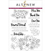 Altenew Dearest Friend Stamp Set