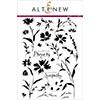 Altenew Wildflower Garden Stamp Set