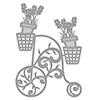 Spellbinders Shapeabilities Lavender Trike Etched Die