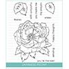 Studio Katia Japanese Peony Stamp Set