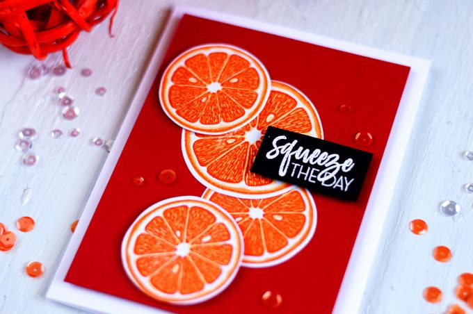 Altenew Main Squeeze. Card by @craftwalks. #card #altenew #cardmaking #handmadecards #papercrafts