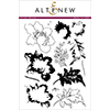 Altenew Crown Bloom Stamp Set