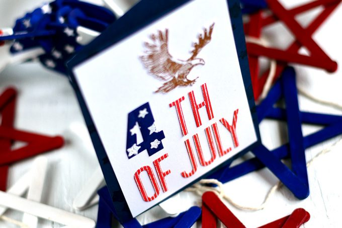 4th Of July with Altenew Land Of The Free.. Card by @craftwalks. #cards #cardmaking #handmade #diy #altenew #stamps #homemade