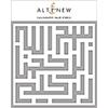 Altenew Calligraphy Maze Stencil
