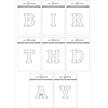 Altenew Mega Alphabet 'Birthday' Bundle