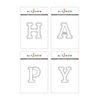 Altenew Mega Alphabet 'Happy' Bundle