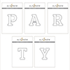 Altenew Mega Alphabet 'Party' Bundle