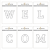Altenew Mega Alphabet 'Welcome' Bundle